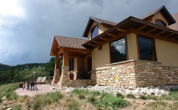 Durango Ranch House - South Porch