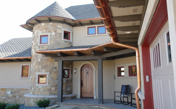 Crow River Bluff House - Entry