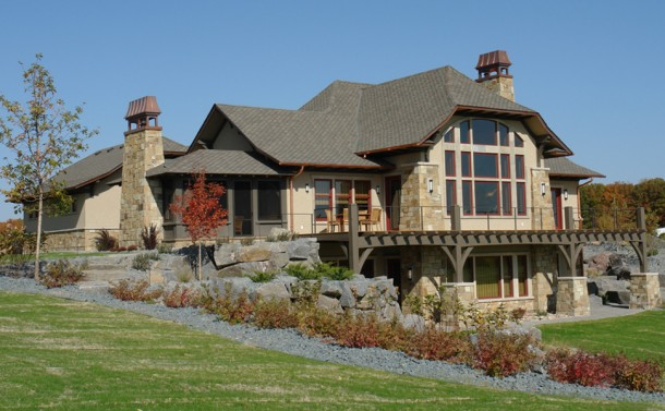 Crow River Bluff House - SE