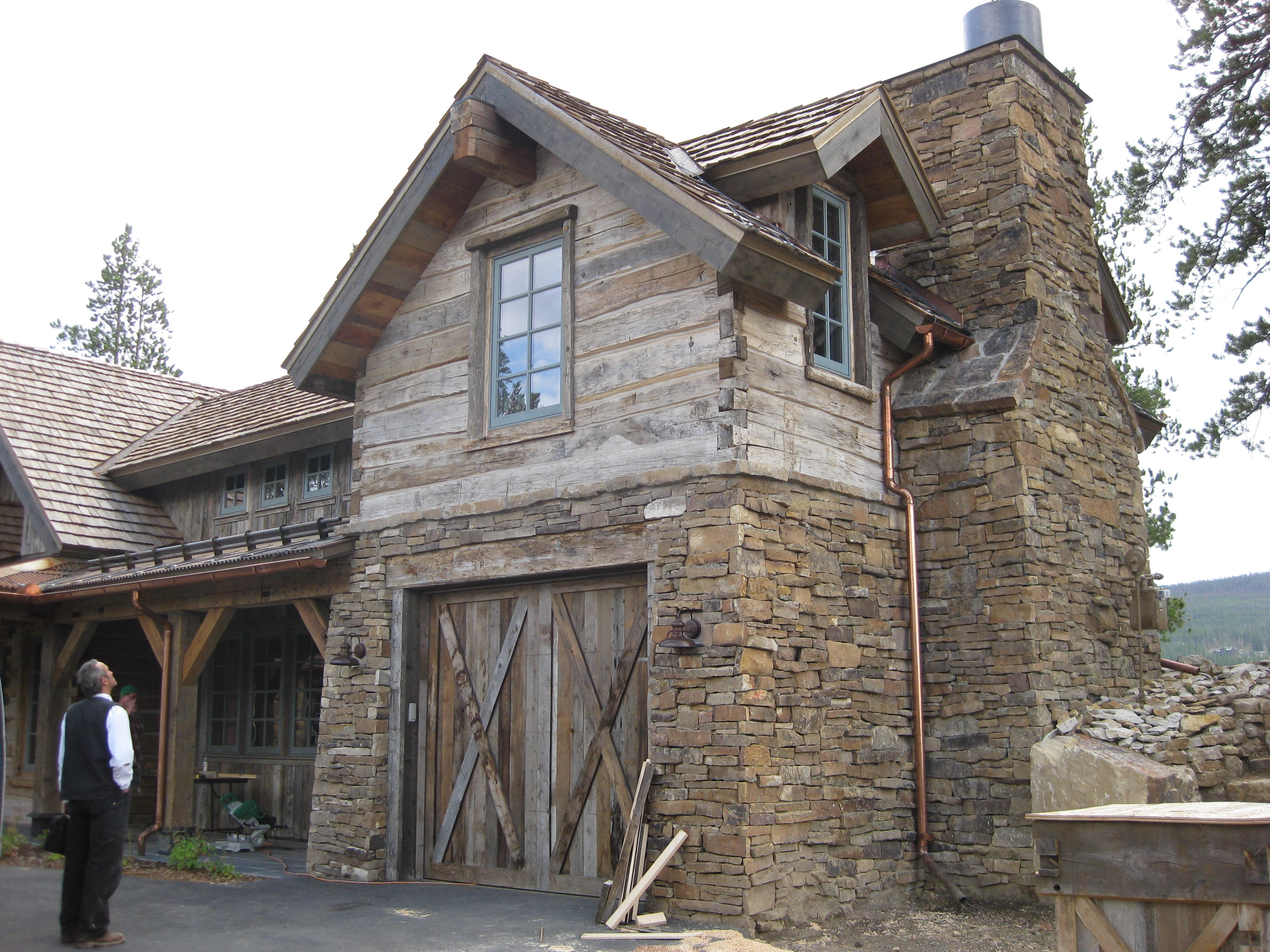 Colorado reclaimed log and timber great northern for Colorado log home plans
