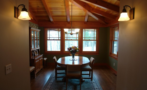 Pickeral Lake Craftsman Style Home - Dining Room