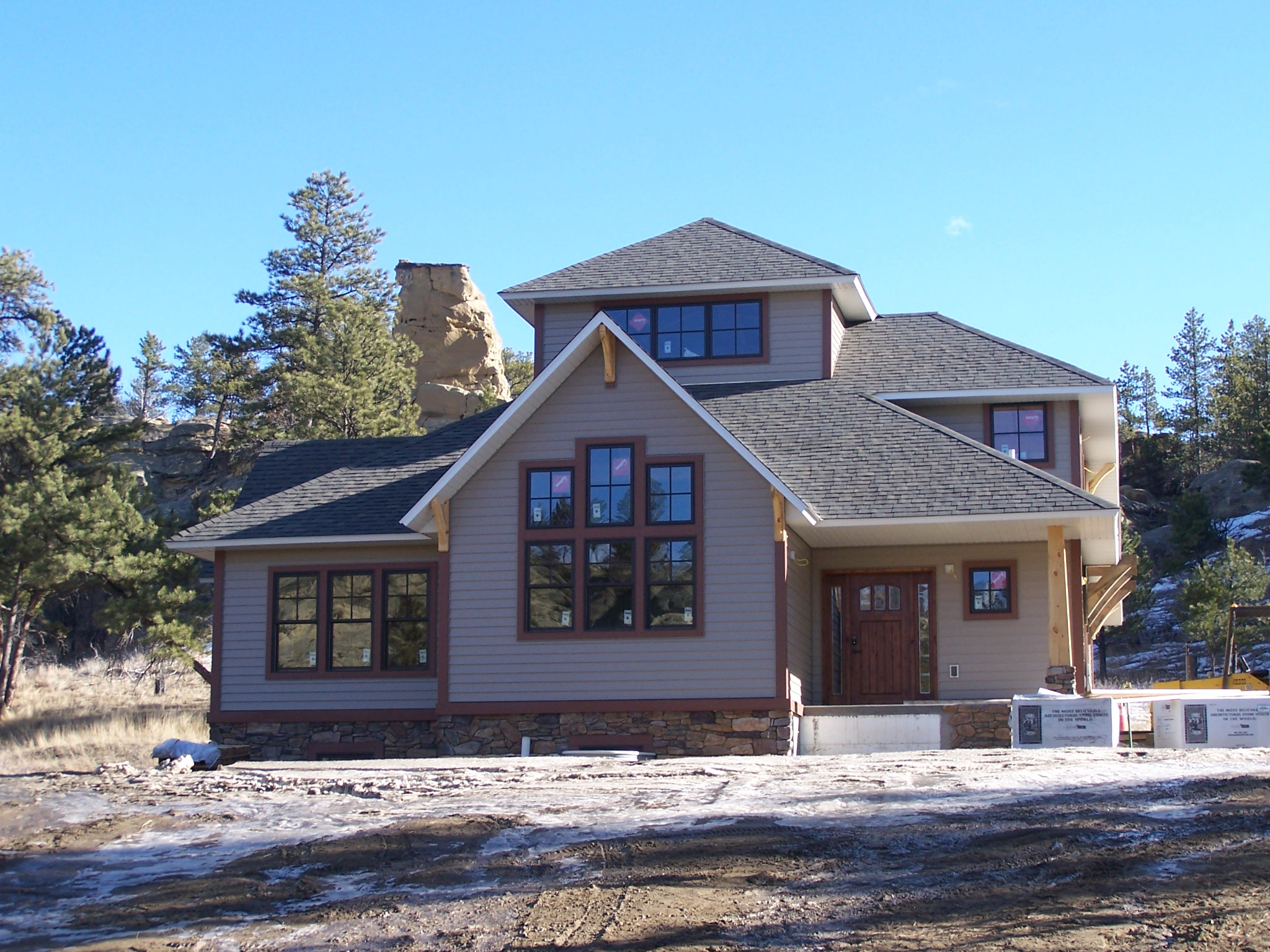 Montana Canyon Home Great Northern Woodworks Great