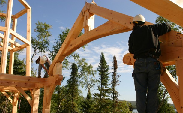 Timber Frame - Arch