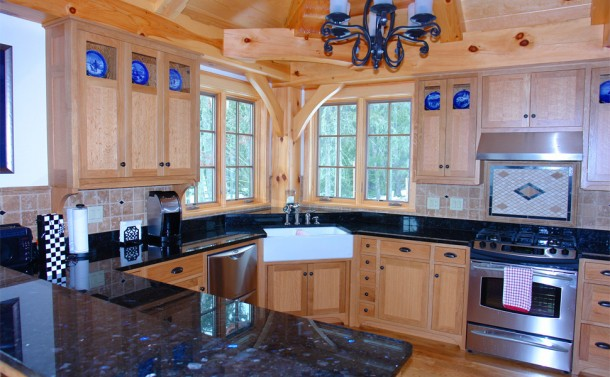 Timber Framed Home - Kitchen