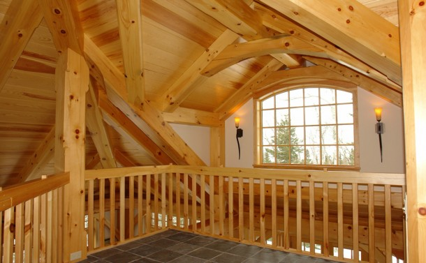 Timber Framed Home - Loft